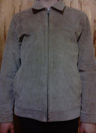 Чоловіча шкіряна куртка мужская кожаная куртка
