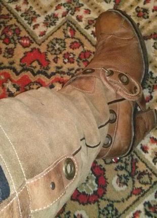 Ботинки,сапожки!кожа!