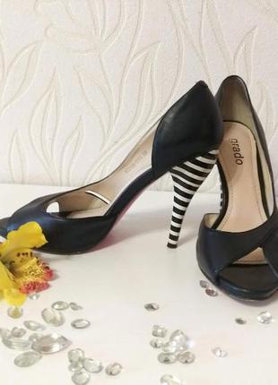 Летние туфли, кожа, 38 размер