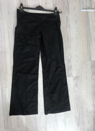 Ликвидация товара#чёрные льняные брюки
