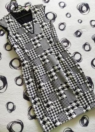 Новое платье миди от h&m  гусиные лапки sale