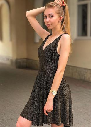 Плаття з люрексовою ниткою