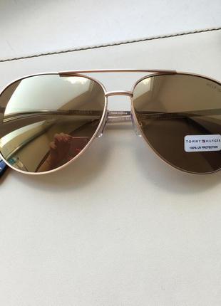 Солнцезащитные очки авиаторы tommy hilfiger, оригинал