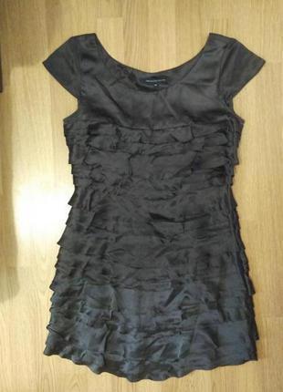 Шёлковое платье french connection