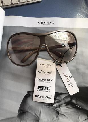 Трендовые серебристые солнцезащитные очки e-sun (италия)