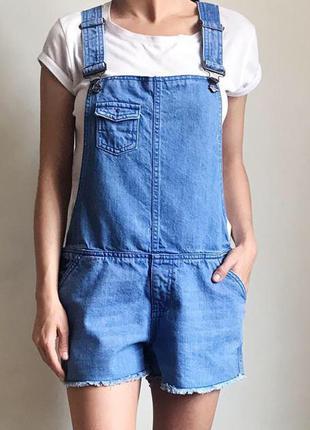 Комбез комбинезон джинсовый шорты