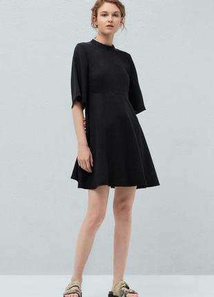 Платье mango denim xs