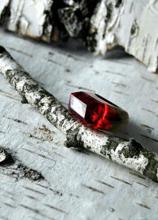 Авторской пейзажное кольцо. ручная работа