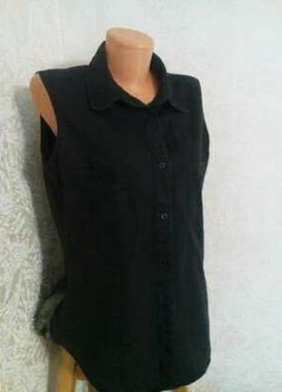 Женская рубашка без рукавов для дачи или дома