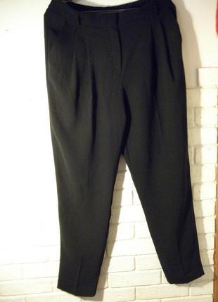Классические чёрные брюки от mango