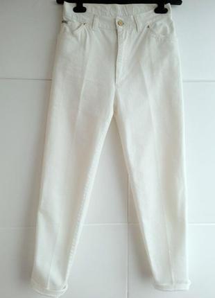 Крутые укороченные джинсы люксового бренда escada с высокой талией