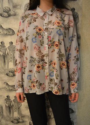 Рубашка в цветочек atnosphere