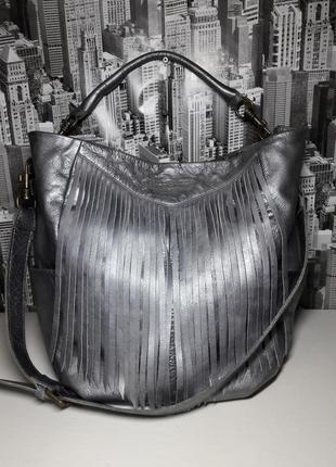 Бесподобная вместительная сумка-мешок от *liebeskind berlin*/100% натуральная кожа