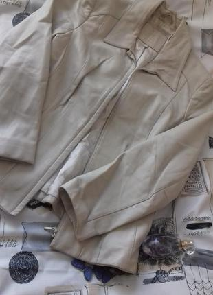 Кожаная куртка от marks & spencer