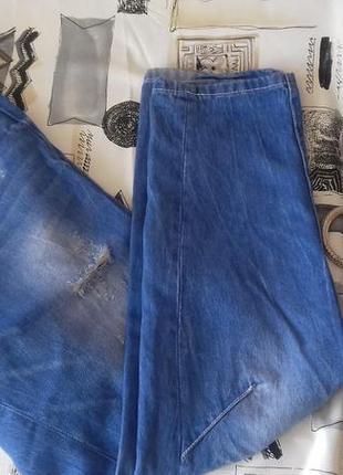 Крутые рваные джинсы от amisu