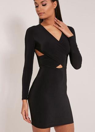 Стильное платье на запах от prettylittlething