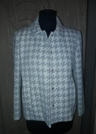 Zara  пиджак в стиле chanel
