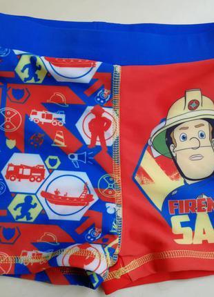 Новые яркие плавки пожарный сем