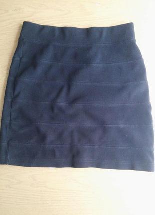Модная мини юбка  h&m