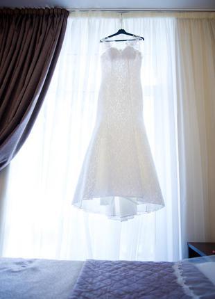 Свадебное платье размер 42-444 фото