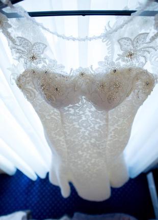 Свадебное платье размер 42-442 фото