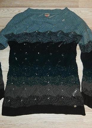 Удлиненный супер свитер only