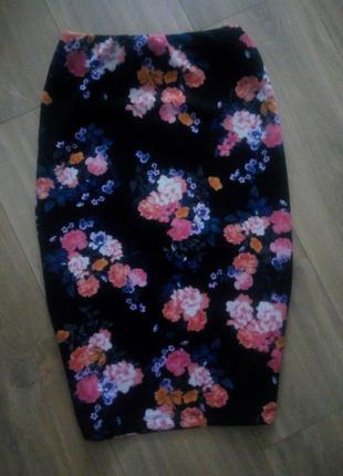 Цветочная юбка new look