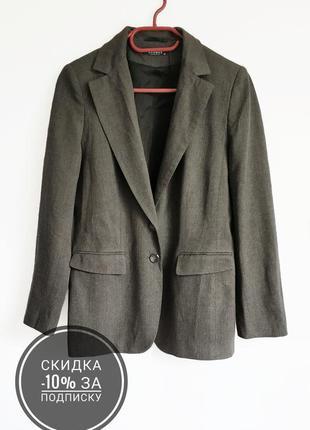 Стильный классический шерстяной пиджак/жакет от globus essentials