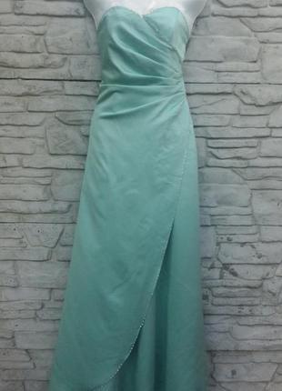 Распродажа!!! красивое, нарядное, вечернее, выпускное платье мятного цвета ebonyrose