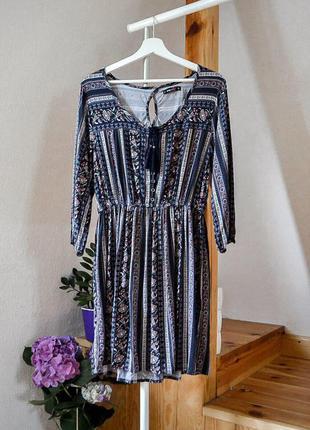 Очень красивое платье в этническом стиле от fb sister