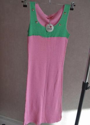 Летнее платье fiorucci