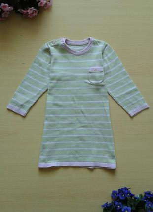 Теплое платье marks & spencer, 80-86