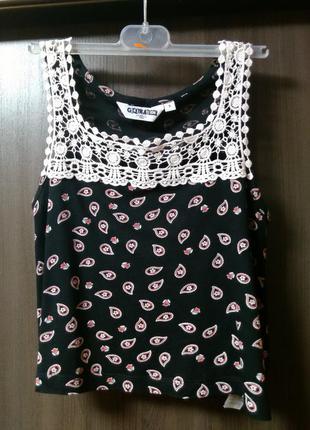 Трикотажная блузка new look на девочку 9 лет в идеальном состоянии