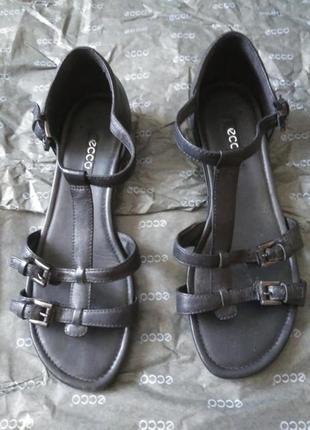 Кожаные женские босоножки, сандали, сандалии ecco