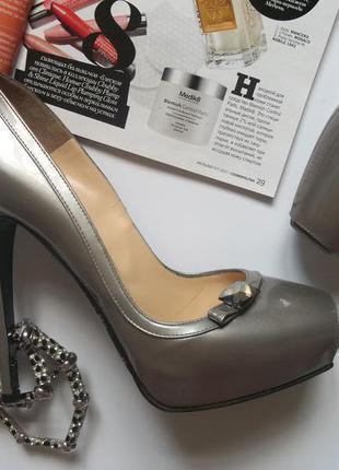 Лаковые туфли nando muzi новые