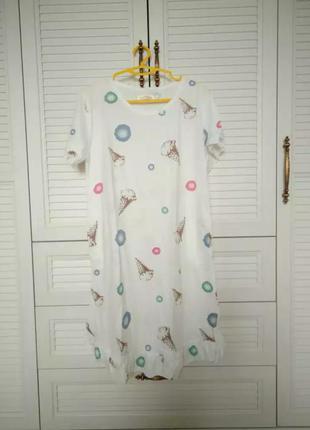 Пижама платье ночнушка мороженое