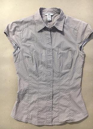 Рубашка в горошек h&m