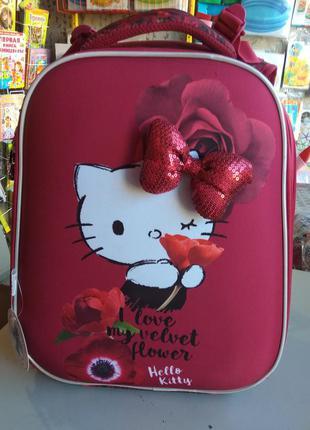 Рюкзак ранец школьный каркасный kite германия 531 hello kitty