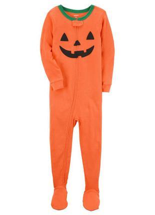 Пижама 2т 3т eu 86 92 98 carters человечек слип на подарок хэллоуин