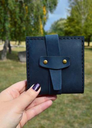 Кожаный кошелек. портмоне. 100% натуральная кожа