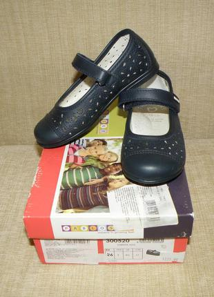 Новые ажурные туфельки pablosky на девочку