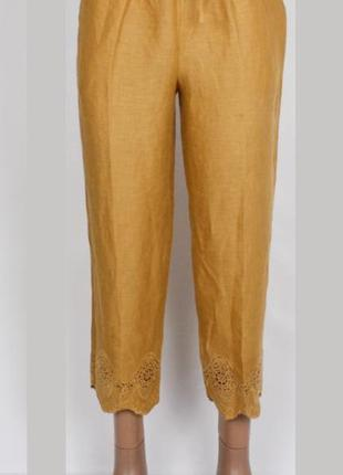 Легкие летние штаны massimo dutti