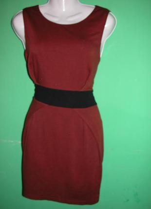 Cтильное теплое платье от ax paris 46-48 размер