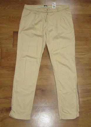 Новые хлопковые штаны размер 10-12-14 h&m