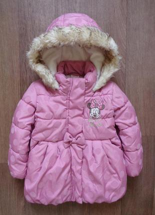 Куртка 12 - 18мес, disney, длина 42см, ширина 32см, рукав 31см.