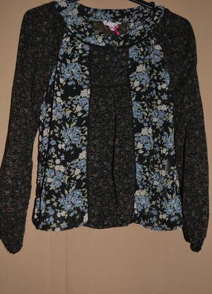 Блузка для девочки размер 5-6 лет  miss evie