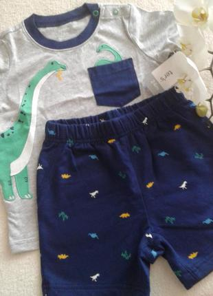 Детский летний костюм carters для мальчика