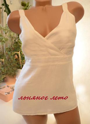 Блуза туника лен gap индия,брендовые вещи, обувь в летней распродаже!2 вещь-50%1 фото
