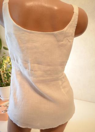 Блуза туника лен gap индия,брендовые вещи, обувь в летней распродаже!2 вещь-50%2 фото