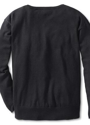 Удлиненный свитерок оверсайз tchibo, германия - р. 52-54 укр.3